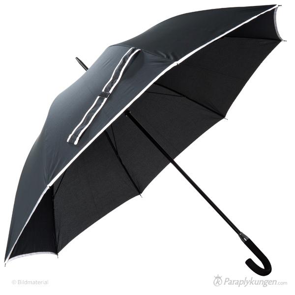 Reklam-paraply med tryck, Norrsken, stor bild