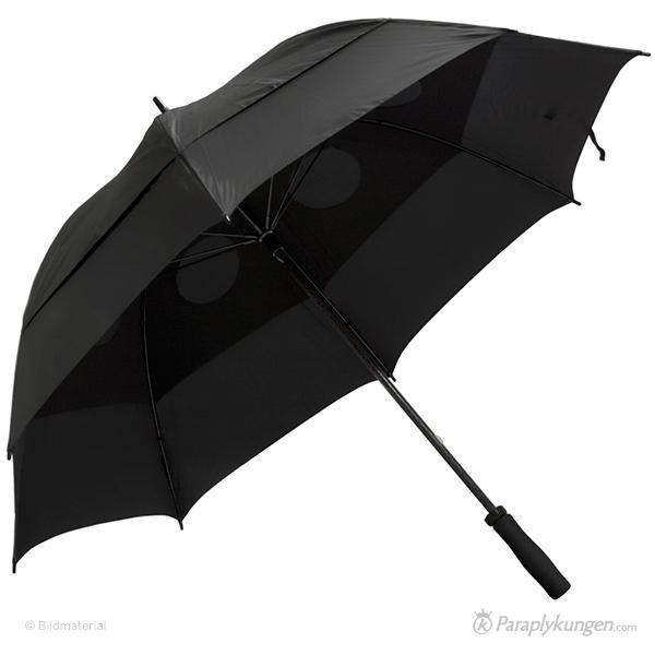 Reklam-paraply med tryck, Dunder, stor bild