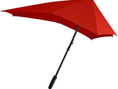 Titta närmare på paraplyet Senz° Smart