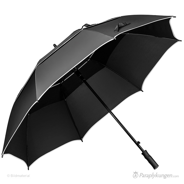 Reklam-paraply med tryck, Forecast, stor bild