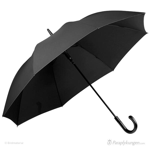 Reklam-paraply med tryck, Overcast Deluxe, stor bild